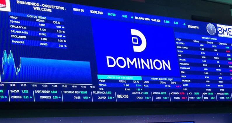 Global Dominio cotiza en el Mercado Continuo